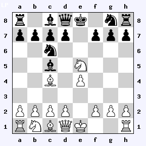 board1.php?p=WKe1Dd1Ta1h1Lc1c4Pb1e5Ba2b2c2d2e4f2g2h2ZKe8Dd8Ta8h8Lc8c5Pc6g8Ba7b7c7d7f7g7h7